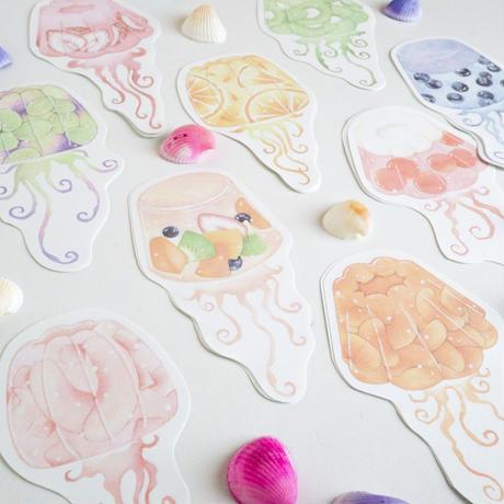 Jellyfish☆型抜きメモセット