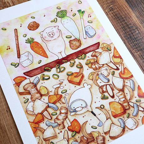 Let's豚汁♡A4サイズポスター