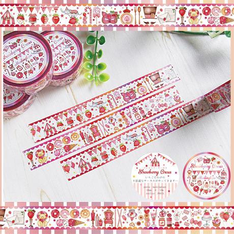 Strawberry Circus☆マスキングテープ
