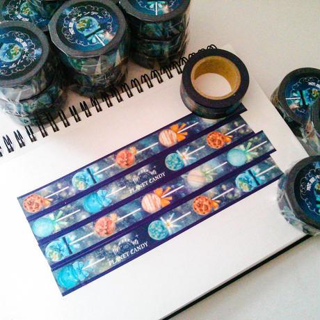 【再販】惑星キャンディ☆マスキングテープ