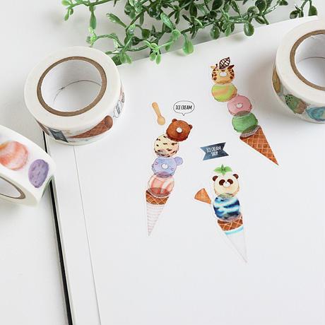 アイスクリーム☆マスキングテープ