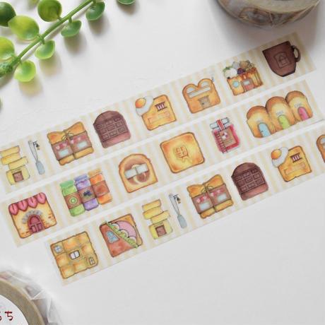 【再販】食パンのおうち♡マスキングテープ