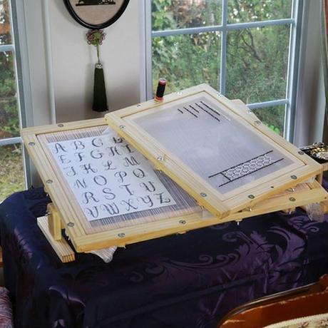 エディ刺繍台A3(A3刺繍枠+A3専用傾斜式スタンド)