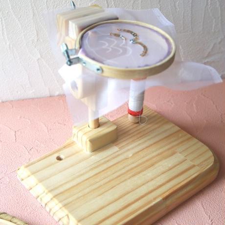 刺繍スタンド(フープスタンド/丸枠用スタンド/卓上スタンド)