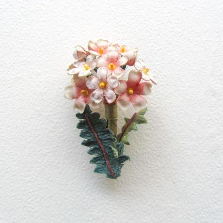 ≪ヤポニカ≫ さくら草 ブローチ