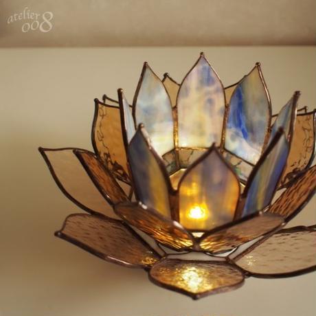 蓮の花ランプ ロータスランプ