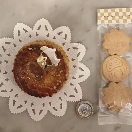 1月の焼き菓子BOX  ミニガレットデロワ