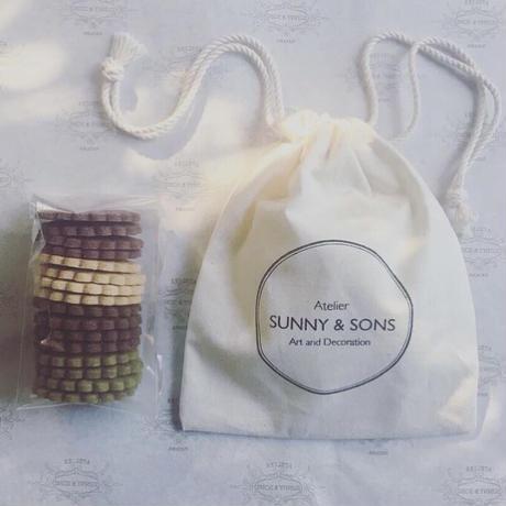 SUNNY&SONS定番クッキー 巾着袋入り