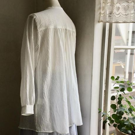 なでしこシャツ      コットンリネン      オフホワイト