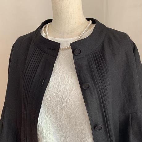 シャビィジャケット リネンツイル ブラックフォーマル