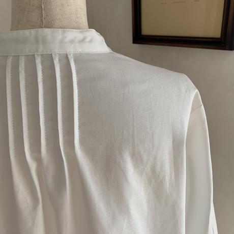 ルスカシャツ       コットン オフホワイト