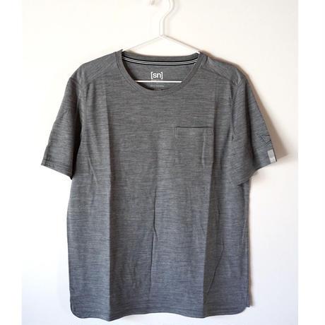 Hiker's T-shirt  col: gray melange