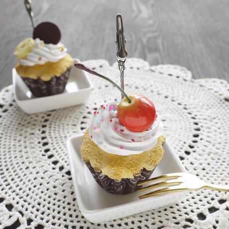 カップケーキのメモスタンドlo-2402
