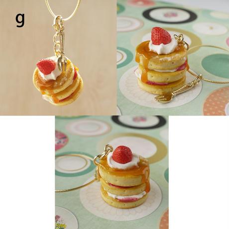 3段ホットケーキのキーホルダーlkh-2302