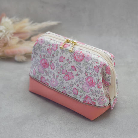 リバティ フェリシテ コスメポーチ ドラジェ( ピンク )