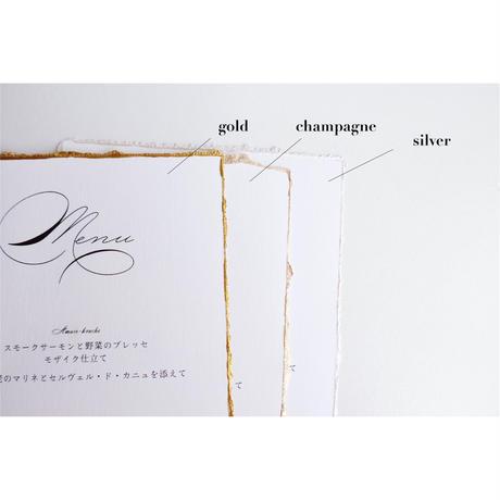 席札|エスコートカード ‖ moon light|paper with deckle edge|10枚1セット