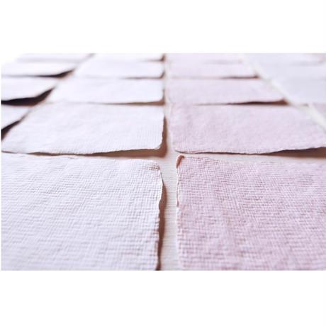 [ 5枚1セット]  カード|cotton |Handmade Deckle Edge Place card