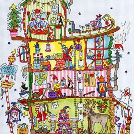 Cut  Thru'  North  Pole  House(日本語基本ガイド付き)Bothy Threads