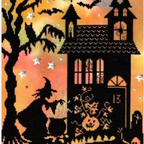 Pumpkin  Houses(日本語基本ガイド付き)Bothy Threads