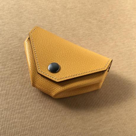 ノブレッサカーフ(イエロー) 折りたたみ式コインケース