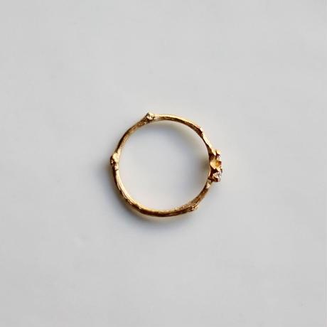 ブランシェ 小さい花のリング