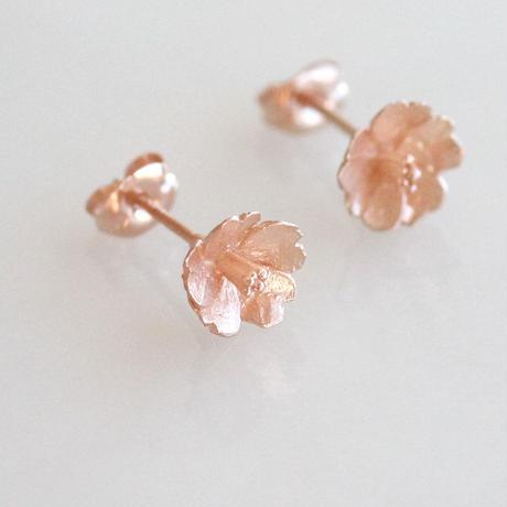 さくらのピアス【 Pink Gold 】