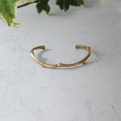 枝のバングル【 gold 】