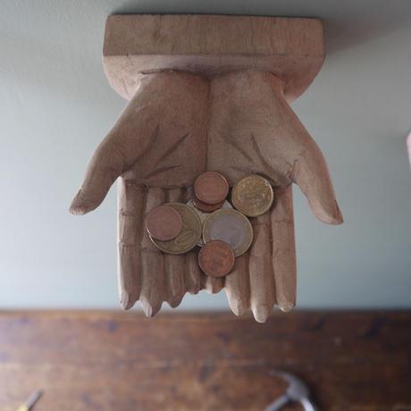 wood sign - BOTH HAND-