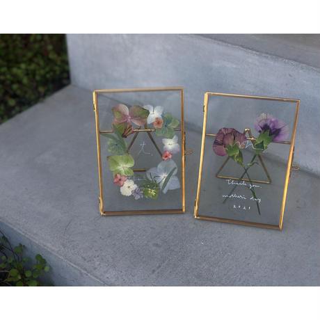 遅れてごめんね 2021 Mother's Gift  =Flower Frame & お菓子=