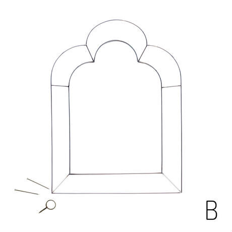 QUIAPO thin frame / キアポ ティン フレーム