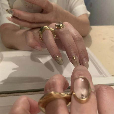 PORTE BONHEUR  - Heart ring-