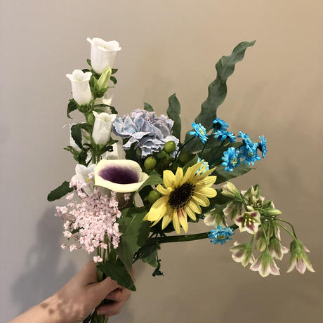 nina   HOME Flower Set   - 花瓶付き-