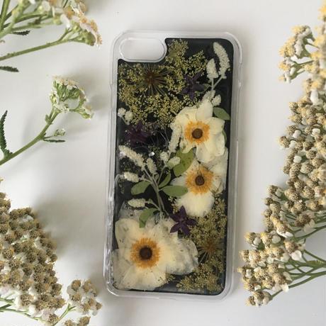 オーダー : 押し花case iPhone plus &その他 (カラー)