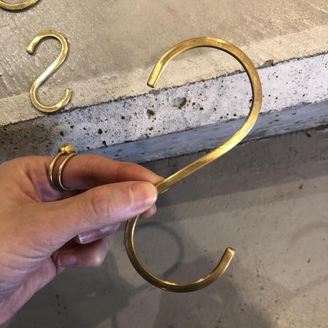 Brass S字フック   Lサイズ