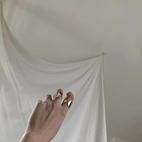 PORTE BONHEUR  - curve ring-