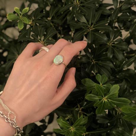 PORTE BONHEUR  - opal  ring -  B