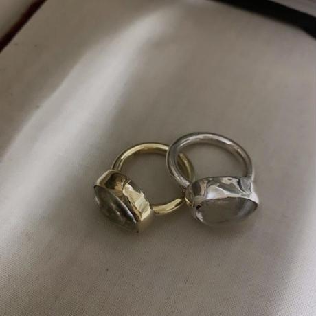 PORTE BONHEUR  - quartz  ring -
