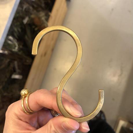Brass S字フック   Mサイズ