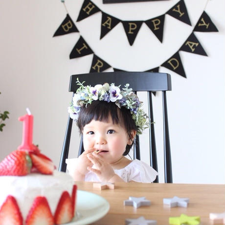 baby&kids 花冠  カスタムオーダー