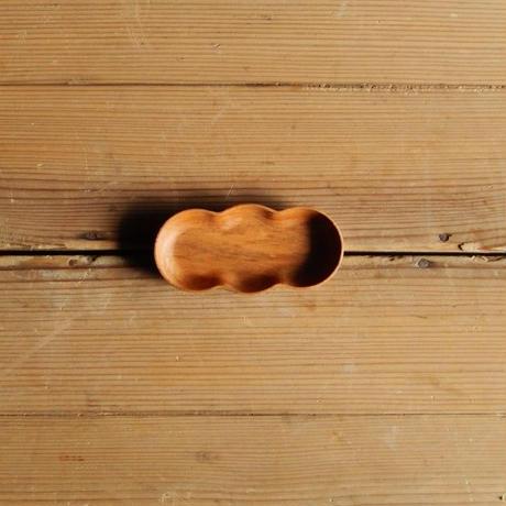 四十沢木材工芸  桜豆皿  まめ