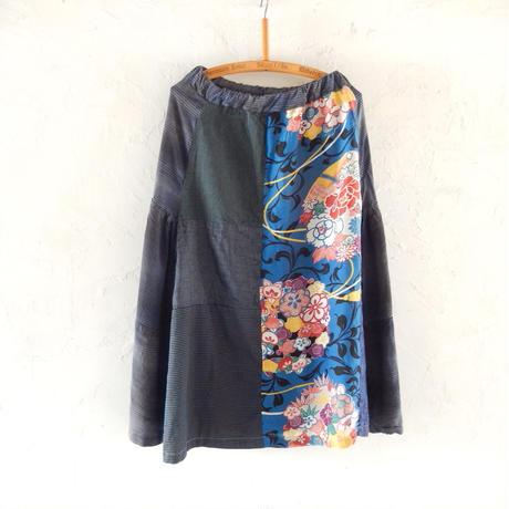 takuroh shirafuji Hikizakura[Bolo Tsugihagi Gathered Skirt] one