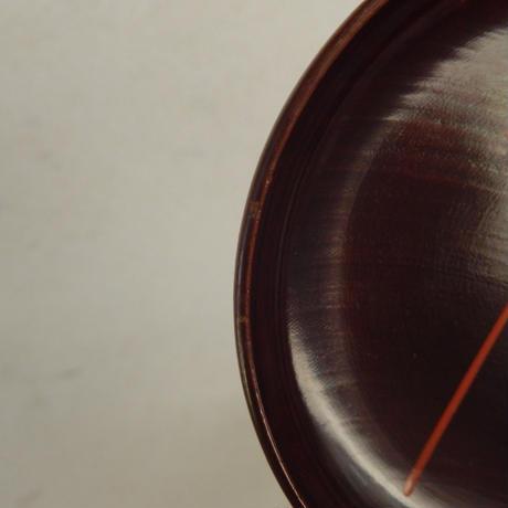 antiques  漆器 蒔絵 小皿 【風車】