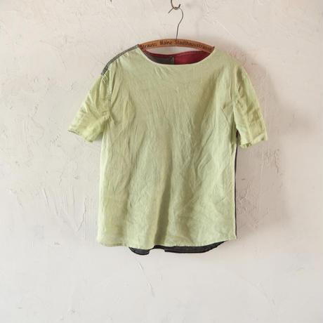 takuroh shirafuji  Green Levain Languid[Lithuania LinenTops : size 2]