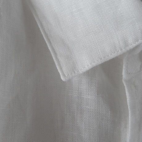 takuroh shirafuji Lithuania Linen basic shirt (size 2)