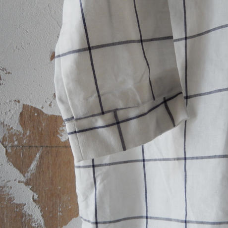 COCOLO Windowpane Check Shirt