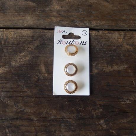 antiques 金縁のボタン