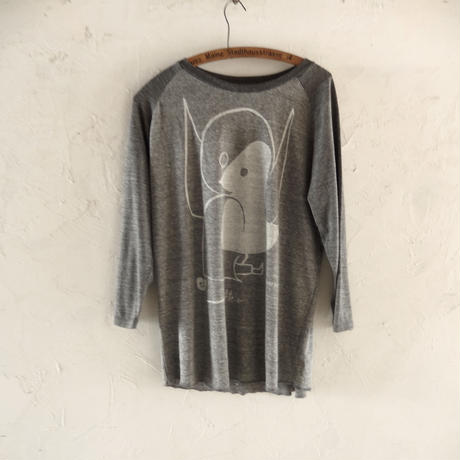 takuroh shirafuji SALON Gray T-shirts size XL
