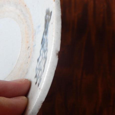 安南焼 染付 小皿