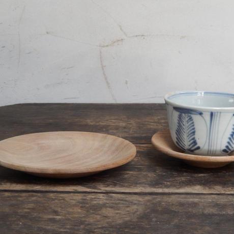 antiques  白木の小皿
