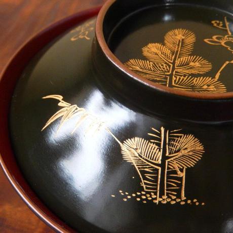 古民藝 漆器- 輪島塗 蓋付椀